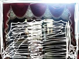 Curtain frills designer