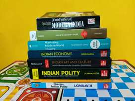 UPSC IAS brand new books