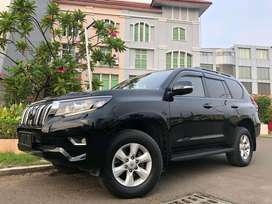 Land Cruiser Prado 2.7 TX-Limited 2013 Black Rubah Facelift Model 2018