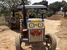 Good condition running tractor