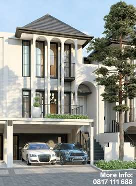 Rumah Klasik Tropical Modern di Cluster Aether BSD City Tangerang