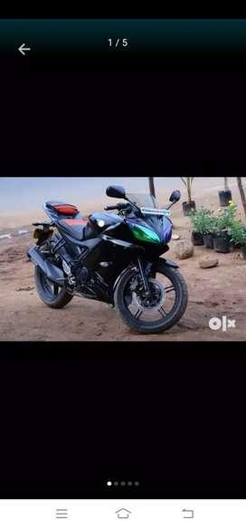 R15 Yamaha bike