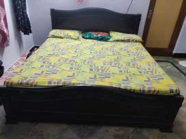 King size bed with matress and dressing table