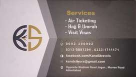 Umrah packages and all airlines tickets