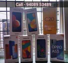 Realme C20 | Samsung M12, F12, F22, M32 | Redmi 9 *SEAL PACK phones*