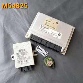 ECU set EWS3 transponder BMW 325i E46 M54 thn 01-04