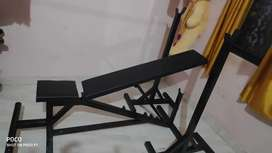 Gym bench universal with movable stand brand new