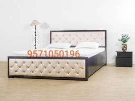 Solid wooden new double bed