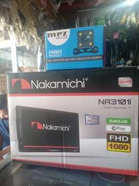 Dobledin Dekless 7in Nakamichi Lengkap Kamera Parkir