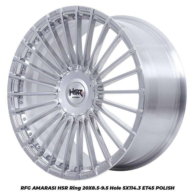 Velg Hsr Original RFG Amarasi R20 Pcd 5x114 Buat Rush Crv Xpander Dll