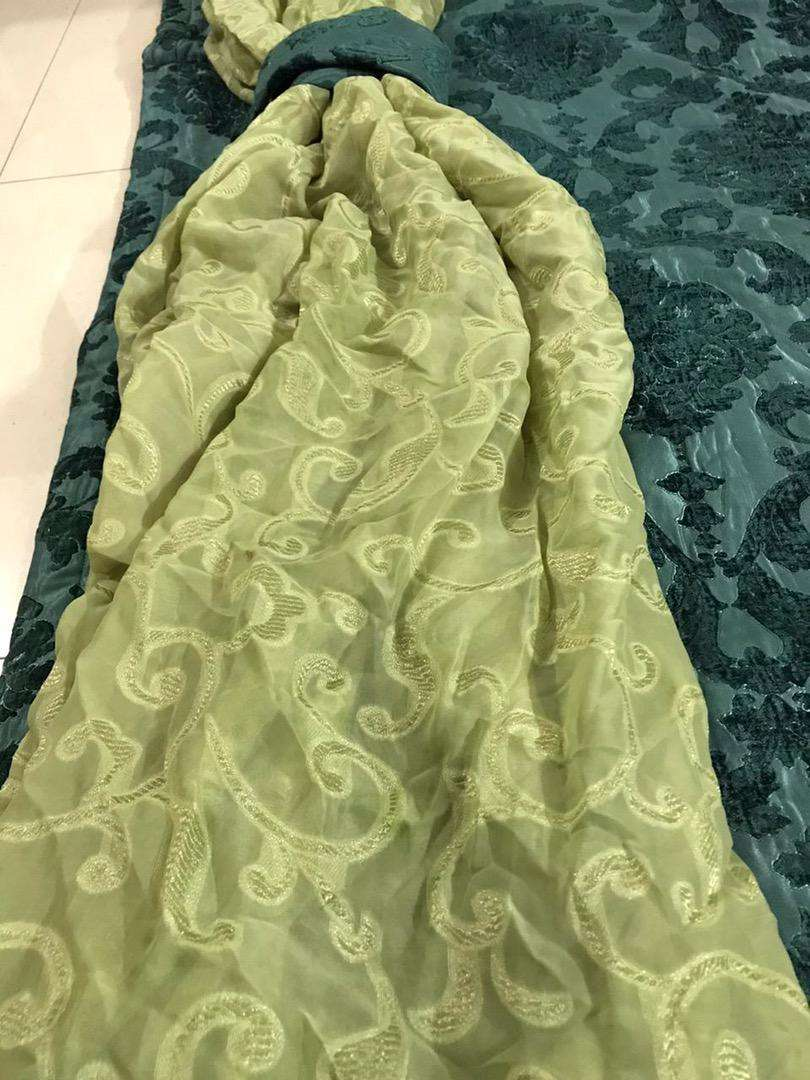 Chiffon Curtains for sales.