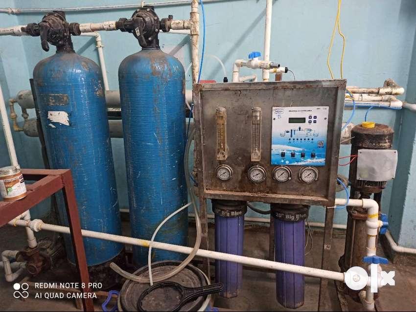 Industrial r o plant 0