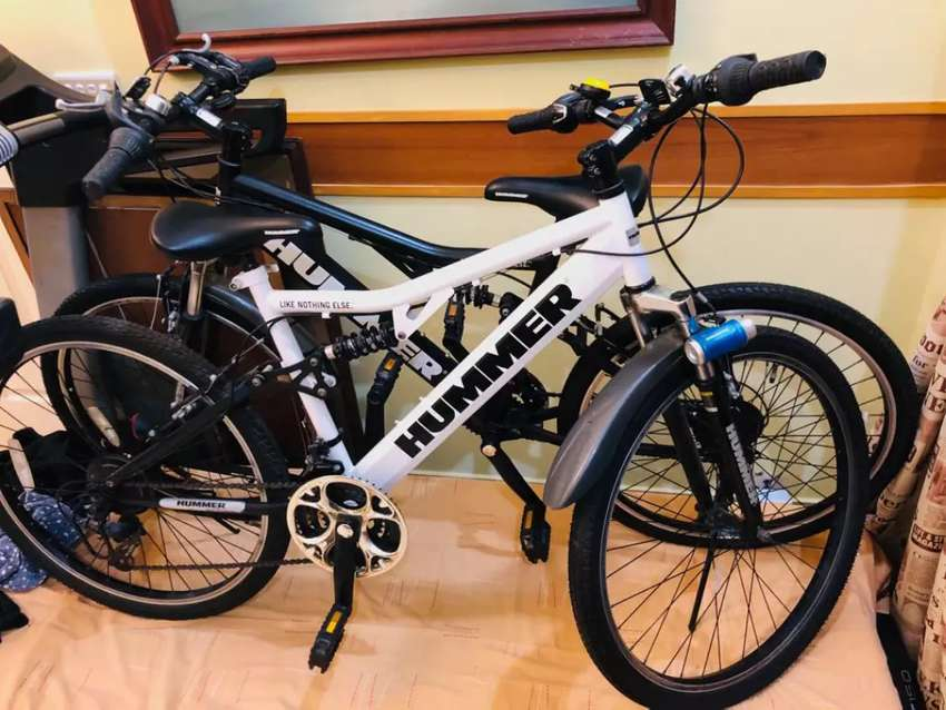 IMPORTED hummer bicyles x 2 (One lac for both) 0