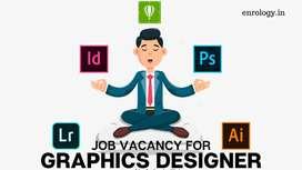 Need Graphic Designer for IT company in Raipur Chhattisgarh Location