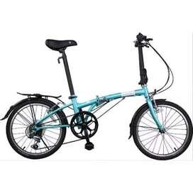 Sepeda Lipat Dahon Chromoly Original USA Import