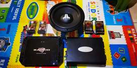 Set Audio Zapco Reference + Arc Audio + Jl Audio Subwoofer + Scanspeak