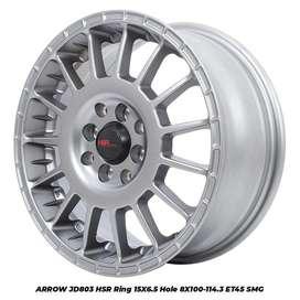 ARROW JD803 HSR R15X65 H8X100-114,3 ET45 SMG