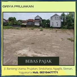 Gratis Pajak Balik Nama Kavling Siap Bangun Dekat Jl Kaliurang Km 8 SH