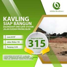 Kavling Siap Bangun Tanah di Jual Kota Bekasi Mustikasari dekat LRT