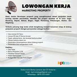 Lowongan Marketing Online Property