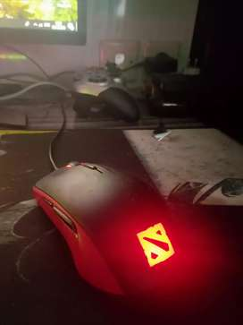 Mouse Gaming Optical Steelseries Rival 100 Special Edition Dota 2