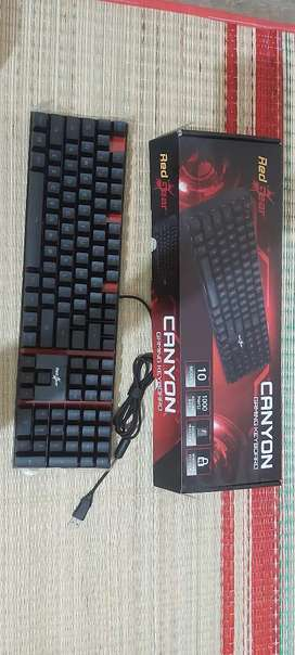 Read gear canyon gaming keyboard for salee