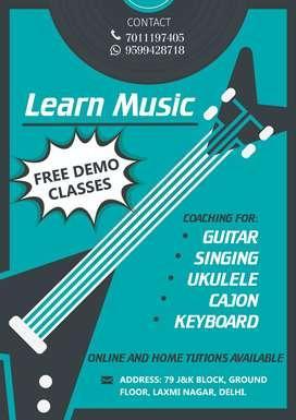 MUSIC AND FINE ART CLASSES