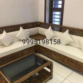 Darusilpi wooden sofa