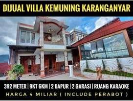 Dijual villa  kemuning kra
