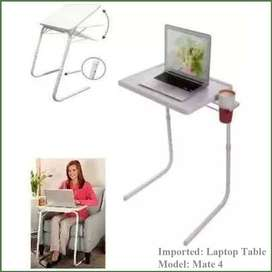Table Mate IV, Laptop  with adjustable height, Don't go Anywhere, we