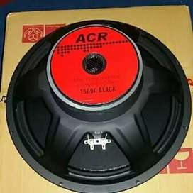 Per 1 pcs Speaker Acr 15 inch 15600 black 500 watt 8 ohm original