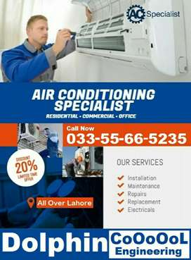 AC Service, AC Repair, AC Gas Charging in Lahore just On 1 Call.