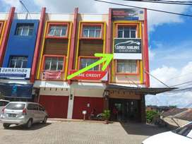 Disewakan Ruko 3 Lantai posisi Hook Jln Basuki Rahmat Palembang