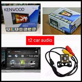 Jual murah dvd 2din KENWOOD DDX316 komplit camera hd masih mulus 99%