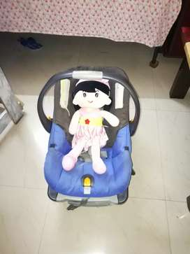 Baby carry cot, rocker and car seat