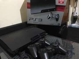 PS3 Black 320 GB mulus Fullset