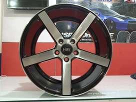 toko velg mobil murah NE5 Ring 18 lebar 8/9 pcd 5x114 xpander rush dll