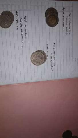 uang koin rp1000 rp100 rp50