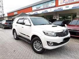 Toyota Fortuner G VNT TURBO A/T Diesel Thn 2014 Kilometer Low