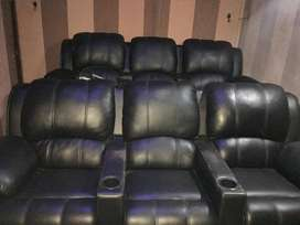 HOME THEATRE LEATHERITE CHAIRS