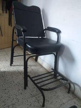 Beauty parlour foldable chair