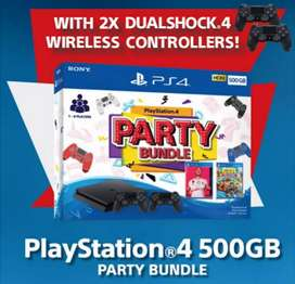 Kredit SONY PS4 Slim Party Bundle Bisa bunga 0%
