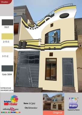 A furnished house for sale 3.75 Marla