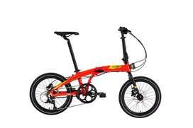 Sepeda Lipat Ecosmo Reggae