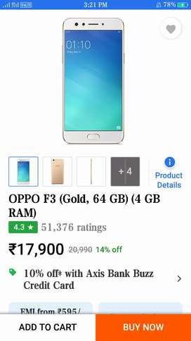 Oppo f3 mobile bill charger box