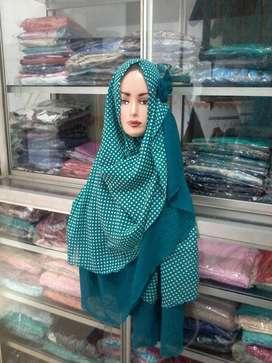Jilbab instan bolak balik
