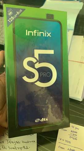 infinix s5pro 6gb, 128gb. only ten days use