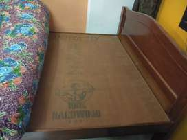 COT WITH BED for sale