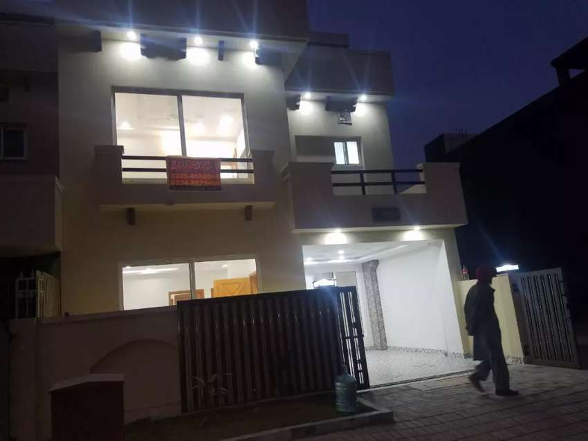 1 Kanal Brand New Double Storey House For Urgent Sale Phase-2