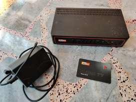Airtel SD Box and Dish